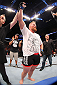 MILWAUKEE, WI - AUGUST 31:  Josh Barnett celebrates after defeating Frank Mir in their UFC heavyweight bout at BMO Harris Bradley Center on August 31, 2013 in Milwaukee, Wisconsin. (Photo by Ed Mulholland/Zuffa LLC/Zuffa LLC via Getty Images) *** Local Caption *** Josh Barnett