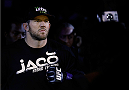 BELO HORIZONTE, BRAZIL - SEPTEMBER 04:  Ryan Bader enters the arena before his light heavyweight fight against Glover Teixeira during the UFC on FOX Sports 1 event at Mineirinho Arena on September 4, 2013 in Belo Horizonte, Brazil. (Photo by Josh Hedges/Zuffa LLC/Zuffa LLC via Getty Images)