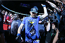TORONTO, CANADA - SEPTEMBER 21:  Alexander Gustafsson enters the arena prior to his fight against Jon 'Bones' Jones in their UFC light heavyweight championship bout at the Air Canada Center on September 21, 2013 in Toronto, Ontario, Canada. (Photo by Al Bello/Zuffa LLC/Zuffa LLC via Getty Images) *** Local Caption ***  Alexander Gustafsson