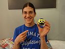 Roxanne Modafferi introduces you to her little friend.