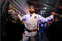 FORT CAMPBELL, KENTUCKY - NOVEMBER 6:  Rafael Natal walks to the Octagon to face Tim Kennedy in their UFC middleweight bout on November 6, 2013 in Fort Campbell, Kentucky. (Photo by Ed Mulholland/Zuffa LLC/Zuffa LLC via Getty Images) *** Local Caption ***Rafael Natal