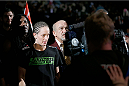 LAS VEGAS, NV - NOVEMBER 30:  Jessica Rakoczy enters the arena before fighting Julianna Pena in their women's bantamweight final fight during The Ultimate Fighter season 18 live finale inside the Mandalay Bay Events Center on November 30, 2013 in Las Vegas, Nevada. (Photo by Josh Hedges/Zuffa LLC/Zuffa LLC via Getty Images) *** Local Caption *** Julianna Pena; Jessica Rakoczy