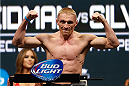 LAS VEGAS, NV - DECEMBER 27:  Dennis Siver weighs in during the UFC 168 weigh-in at the MGM Grand Garden Arena on December 27, 2013 in Las Vegas, Nevada. (Photo by Josh Hedges/Zuffa LLC/Zuffa LLC via Getty Images)