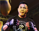 MACAU - FEBRUARY 27:  Cung Le holds an open training session for media at Venetian Macao on February 27, 2014 in Macau. (Photo by Mitch Viquez/Zuffa LLC/Zuffa LLC via Getty Images)