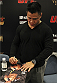 MACAU - MARCH 01:  Cung Le signs autographs for fans before the start of the UFC Fight Night event at the Venetian Macau on March 1, 2014 in Macau. (Photo by Mitch Viquez/Zuffa LLC/Zuffa LLC via Getty Images)
