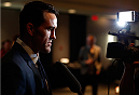 QUEBEC CITY, CANADA - APRIL 14:  Kyle Noke interacts with media during the UFC Ultimate Media Day at the TRYP Quebec Hotel on April 14, 2014 in Quebec City, Quebec, Canada. (Photo by Josh Hedges/Zuffa LLC/Zuffa LLC via Getty Images)