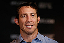QUEBEC CITY, CANADA - APRIL 14:  Tim Kennedy interacts with media during the UFC Ultimate Media Day at the TRYP Quebec Hotel on April 14, 2014 in Quebec City, Quebec, Canada. (Photo by Josh Hedges/Zuffa LLC/Zuffa LLC via Getty Images)