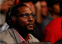 BALTIMORE, MD - APRIL 26:  NFL legend Ray Lewis is seen in attendance during the UFC 172 event at the Baltimore Arena on April 26, 2014 in Baltimore, Maryland. (Photo by Josh Hedges/Zuffa LLC/Zuffa LLC via Getty Images)