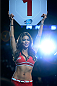 VANCOUVER, BC - JUNE 14:  UFC Octagon Girl Arianny Celeste signals the start of round one between Andrei Arlovski and Brendan Schaub during the UFC 174 event at Rogers Arena on June 14, 2014 in Vancouver, British Columbia, Canada. (Photo by Jeff Bottari/Zuffa LLC/Zuffa LLC via Getty Images)