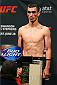 SAN ANTONIO, TX - JUNE 27:  Shane Howell steps on the scale during the UFC Fight Night weigh-in at the AT&T Center on June 27, 2014 in San Antonio, Texas. (Photo by Ed Mulholland/Zuffa LLC/Zuffa LLC via Getty Images)