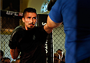 DUBLIN, IRELAND - JULY 16:  Ian McCall holds an open training session during the UFC media day at Royal Hospital Kilmainham on July 16, 2014 in Dublin, Ireland. (Photo by Josh Hedges/Zuffa LLC/Zuffa LLC via Getty Images)