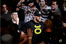 BANGOR, ME - AUGUST 16:  Ryan Bader enters the arena before facing Ovince Saint Preux in their light heavyweight bout during the UFC fight night event at the Cross Insurance Center on August 16, 2014 in Bangor, Maine. (Photo by Jeff Bottari/Zuffa LLC/Zuffa LLC via Getty Images)