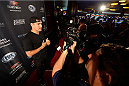 MASHANTUCKET, CT - SEPTEMBER 5: UFC middleweight champion Chris Weidman arrives at the UFC's The Ultimate Fighter 20 event inside the Shrine at Foxwoods Resort Casino on September 5, 2014 in Mashantucket, Connecticut. (Photo by Jeff Bottari/Zuffa LLC/Zuffa LLC via Getty Images)