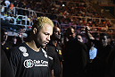 RIO DE JANEIRO, BRAZIL - MARCH 21:  Josh Koscheck of the United States enters the arena prior to his welterweight bout against Erick Silva of Brazil   during the UFC Fight Night at Maracanazinho Gymnasium on March 21, 2015 in Rio de Janeiro, Brazil.  (Photo by Buda Mendes/Zuffa LLC/Zuffa LLC via Getty Images)