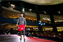 PASAY, PHILIPPINES - MAY 13:  Mark Munoz holds an open training session for fans and media at the Music Hall inside the Mall of Asia on May 13, 2015 in Pasay, Philippines. (Photo by Mitch Viquez/Zuffa LLC/Zuffa LLC via Getty Images)