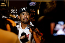 PARANAQUE, METRO MANILA, PHILIPPINES - MAY 14: Mark Munoz interacts with the media during the UFC Ultimate Media Day at the Solaire Resort and Casino on May 14, 2015 in Paranaque, Metro Manila, Philippines. (Photo by Mitch Viquez/Zuffa LLC/Zuffa LLC via Getty Images
