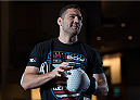 LAS VEGAS, NEVADA - MAY 20:   Chris Weidman holds an open training session for fans and media at the MGM Grand Hotel/Casino on May 20, 2015 in Las Vegas Nevada. (Photo by Brandon Magnus/Zuffa LLC/Zuffa LLC via Getty Images)