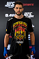 GOIANIA, BRAZIL - MAY 28: Welterweight Carlos Condit of United States poses for a photo during an open training session for media at Flex Alphaville Gym on May 28, 2015 in Goiania, Brazil. (Photo by Buda Mendes/Zuffa LLC/Zuffa LLC via Getty Images)