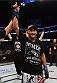 NEW ORLEANS, LA - JUNE 06:   Dan Henderson celebrates his victory over Tim Boetsch in their middleweight bout during the UFC event at the Smoothie King Center on June 6, 2015 in New Orleans, Louisiana. (Photo by Josh Hedges/Zuffa LLC/Zuffa LLC via Getty Images)