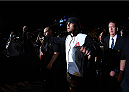SAN DIEGO, CA - JULY 15:   Frank Mir prepares to enter the Octagon before facing Todd Duffee in their heavyweight bout during the UFC event at the Valley View Casino Center on July 15, 2015 in San Diego, California. (Photo by Jeff Bottari/Zuffa LLC/Zuffa LLC via Getty Images)