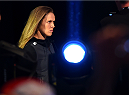 MELBOURNE, AUSTRALIA - NOVEMBER 14: UFC women's bantamweight champion Ronda Rousey of the United States walks to the scale during the UFC 193 weigh-in at Etihad Stadium on November 14, 2015 in Melbourne, Australia. (Photo by Josh Hedges/Zuffa LLC/Zuffa LLC via Getty Images)