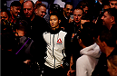 MELBOURNE, AUSTRALIA - NOVEMBER 15:  Ben Nguyen walks to the octagon before his fight against Ryan Benoit (not pictured) in their flyweight bout during the UFC 193 event at Etihad Stadium on November 15, 2015 in Melbourne, Australia.  (Photo by Josh Hedges/Zuffa LLC/Zuffa LLC via Getty Images)