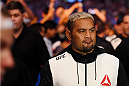 MELBOURNE, AUSTRALIA - NOVEMBER 15:  Mark Hunt walks to the Octagon before facing Antonio Silva (not pictured) in their heavyweight bout during the UFC 193 event at Etihad Stadium on November 15, 2015 in Melbourne, Australia.  (Photo by Josh Hedges/Zuffa LLC/Zuffa LLC via Getty Images)