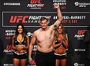 HAMBURG, GERMANY - SEPTEMBER 02:  Josh Barnett of the USA is pictured during the UFC Fight Night Weigh-in held at Barclaycard Arena on September 2, 2016 in Hamburg, Germany.  Andrei 'The Pit Bull' Arlovski and Josh 'The Warmaster' Barnett will fight in the main event on Saturday the 3rd of September, 2016 in this location.  (Photo by Dean Mouhtaropoulos/Zuffa LLC/Zuffa LLC via Getty Images)