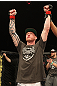 The Ultimate Fighter Season 13 Finale: Ed Herman celebrates his win