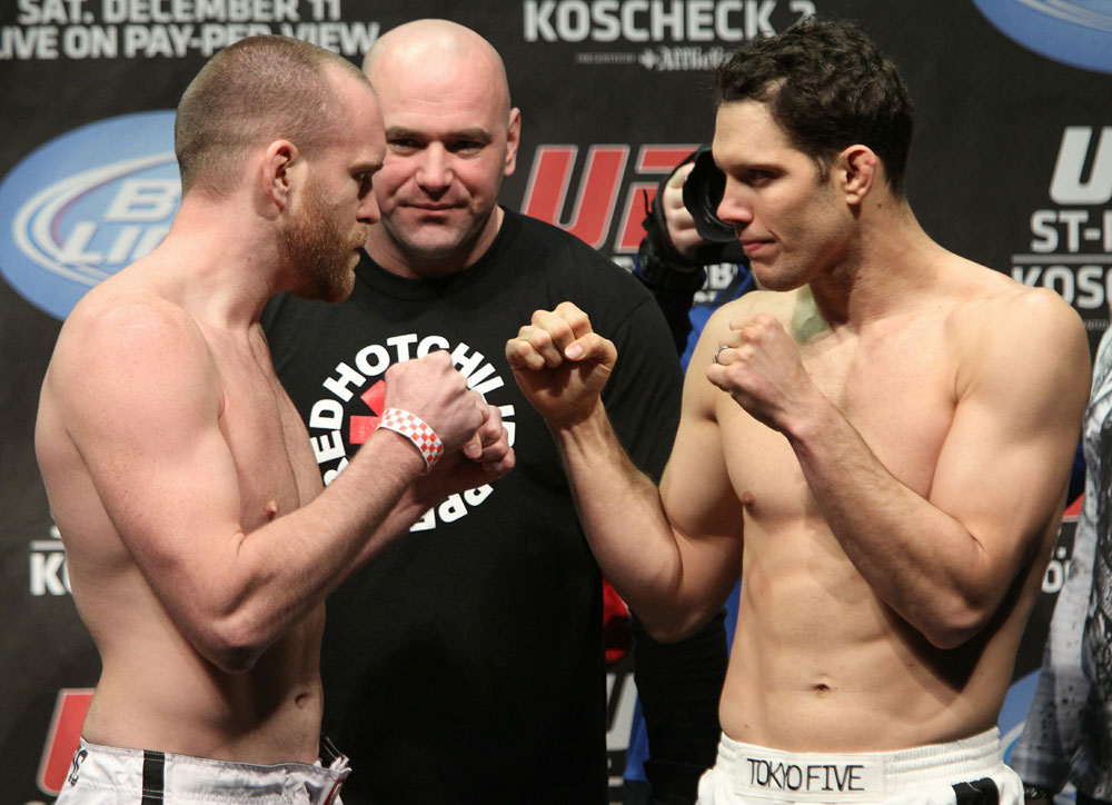 UFC 124 Weigh-in: Grant vs. Almeida