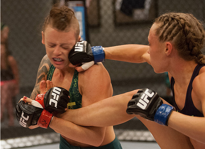 The Ultimate Fighter : Photos du combat Joanne Calderwood vs Rose Namajunas | UFC ® - Media